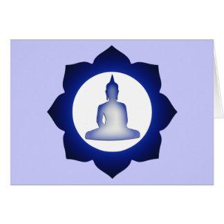 Enlightened Buddha Card