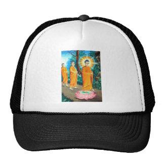 Enlightened Buddhists in orange robes Trucker Hat