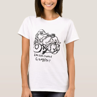 Enlightened Gangster buddha tattoo T-Shirt