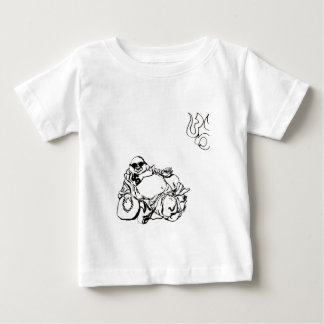 Enlightened Gangster ohm tattoo Baby T-Shirt