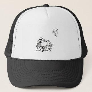 Enlightened Gangster ohm tattoo Trucker Hat