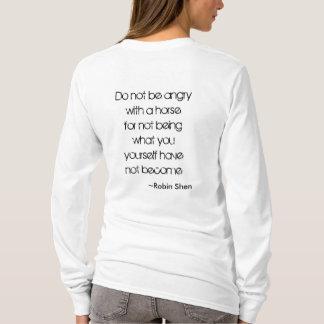 Enlightened Horsemanship Logo- Vertical T-Shirt