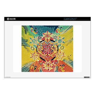 Enlightened .jpg laptop skin