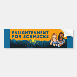 Enlightened Merch for Your Ride! Bumper Sticker