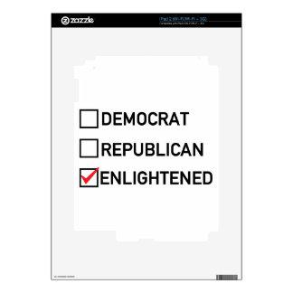 Enlightened Vote Decals For iPad 2