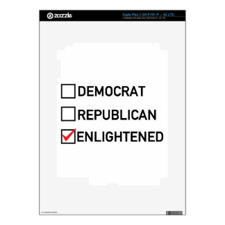 Enlightened Vote iPad 3 Skin