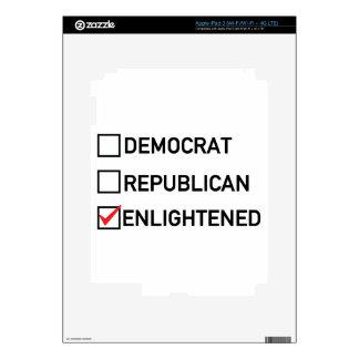 Enlightened Vote iPad 3 Skin