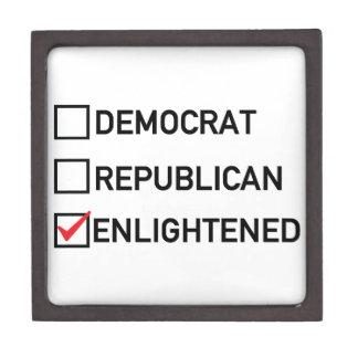 Enlightened Vote Jewelry Box