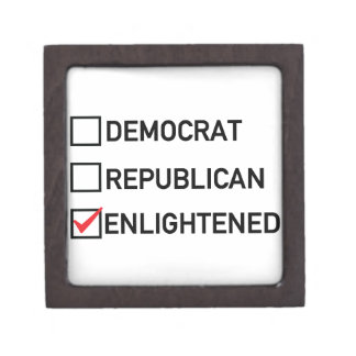 Enlightened Vote Keepsake Box