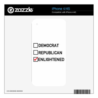 Enlightened Vote Skin For The iPhone 4