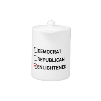 Enlightened Vote Teapot
