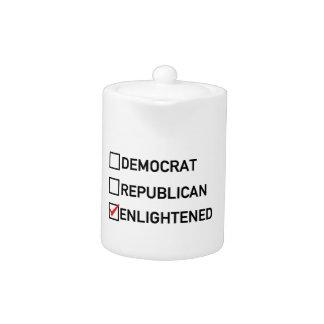 Enlightened Vote Teapot