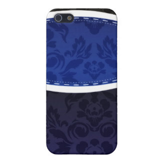 Enlightening Blue floral wedding gift Cases For iPhone 5