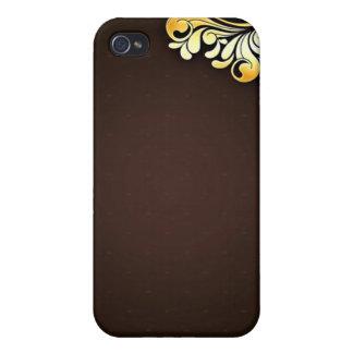 Enlightening Golden Yellow Floral iPhone 4/4S Case