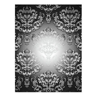 Enlightening Grey and White floral special gift Post Card