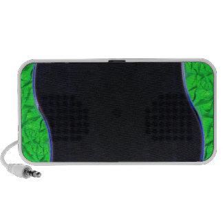Enlightening light greenish texture mp3 speaker