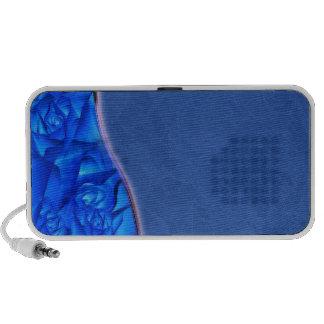 Enlightening mixed bluish texture speaker