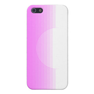 Enlightening pink texture cover for iPhone 5