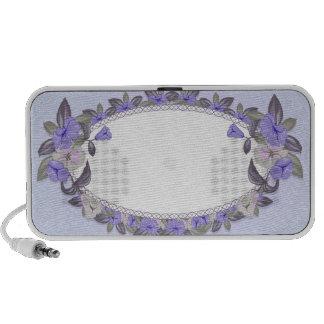 Enlightening Violet blossoms Travel Speaker