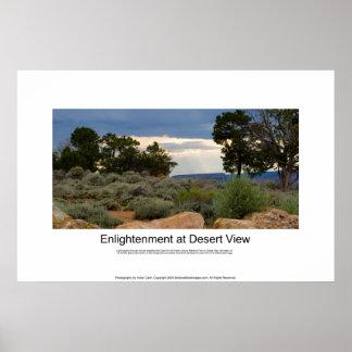 Enlightenment at Desert View Print 4934