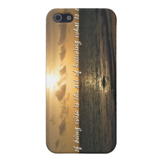 Enlightenment iPhone 5 Cover