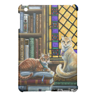Enlightenment Library Cats iPad Case