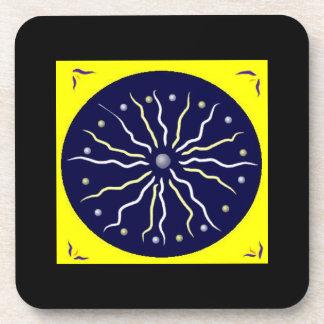 Enlightenment Mandala Coaster