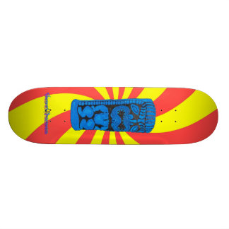 Enlightenment Tiki Skate Deck