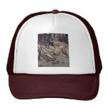 Enlightenment To The Snow On The River By Kao K'O- Trucker Hat