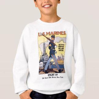 Enlist For Active Service World War 2 Sweatshirt