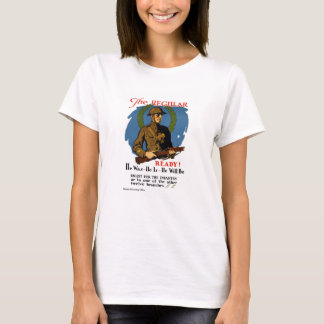 Enlist For The Infantry -- WWI T-Shirt