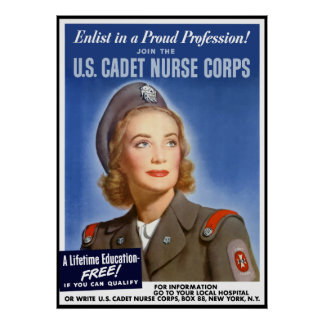 Enlist In A Proud Profession! -- Border Poster