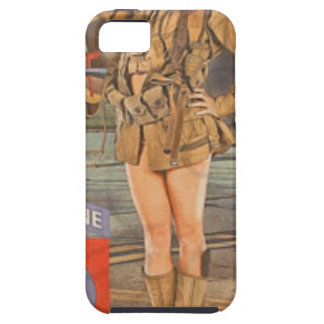 Enlist In The 82nd Airborne iPhone SE/5/5s Case