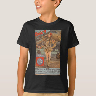 Enlist In The 82nd Airborne T-Shirt
