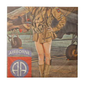 Enlist In The 82nd Airborne Tile