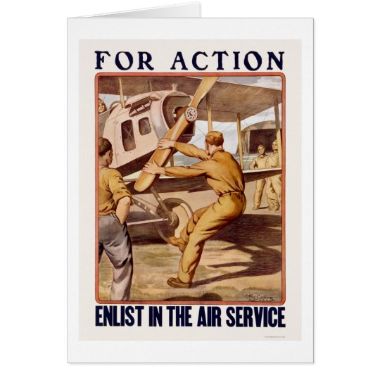 Enlist in the Air Service Card