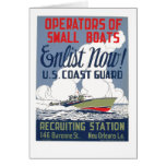 Enlist Now! U.S. Coast Guard Cards