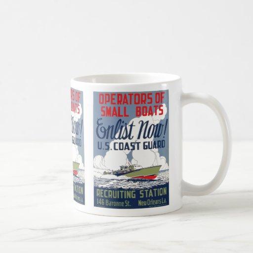 Enlist Now! U.S. Coast Guard Coffee Mug