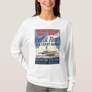 Enlist Now! U.S. Coast Guard T-Shirt