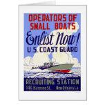 Enlist now!  U.S. Coast Guard - WPA Card