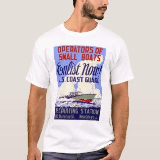 Enlist now!  U.S. Coast Guard - WPA T-Shirt