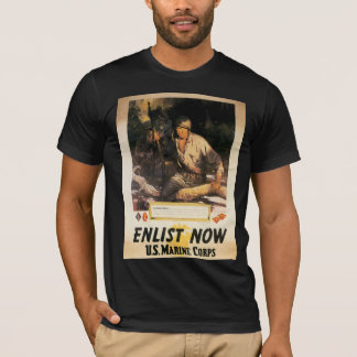 Enlist Now - US Marine Corps T-Shirt