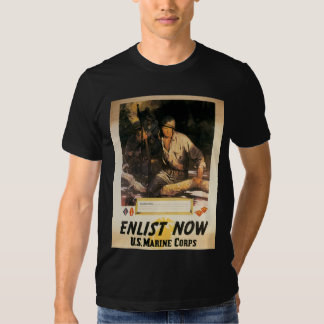 Enlist Now - US Marine Corps Tee Shirt