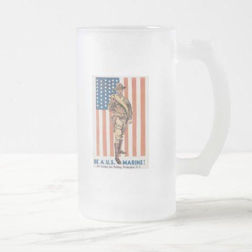 Enlist Now World War 2 Coffee Mug