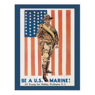 Enlist Now World War 2 Postcards