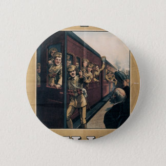 """""""Enlist"""" Old U.S. Military Poster circa 1915 Pinback Button"""