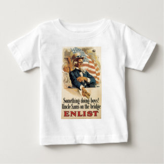 """Enlist"" Old U.S. Military Poster circa 1917 Baby T-Shirt"