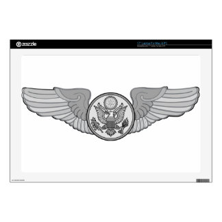 """ENLISTED AIRCREW WINGS 17"""" LAPTOP DECAL"""