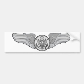 ENLISTED AIRCREW WINGS BUMPER STICKER
