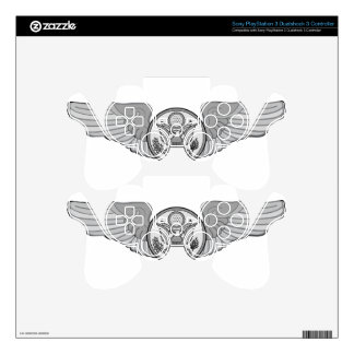 ENLISTED AIRCREW WINGS DECAL FOR PS3 CONTROLLER